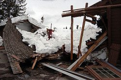 roof damage from snow