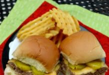 white castle burger recipe