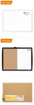 Bestselling Cork and Dry Erase Boards