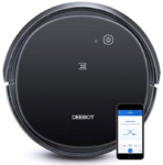 ECOVACS-DEEBOT-500-Robotic-Vacuum-Cleaner-with-Max-Power-Suction-Up-to-110-min-Runtime-Hard-Floors-Carpets-App-Controls-Self-Charging-Quiet