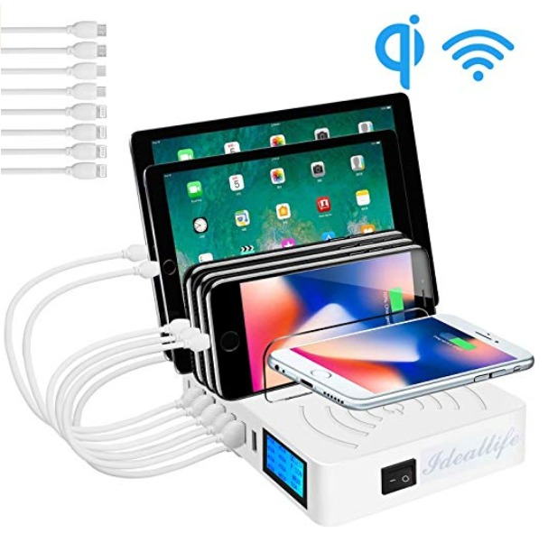 Charge up to 9 devices at once