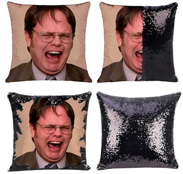The Office mermaid pillow cover