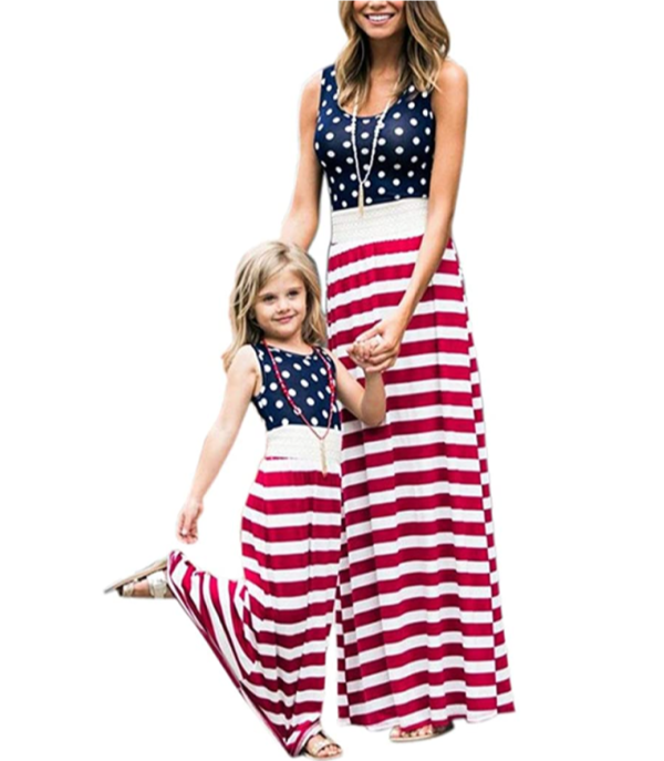 Mom and me 4th of July dresses