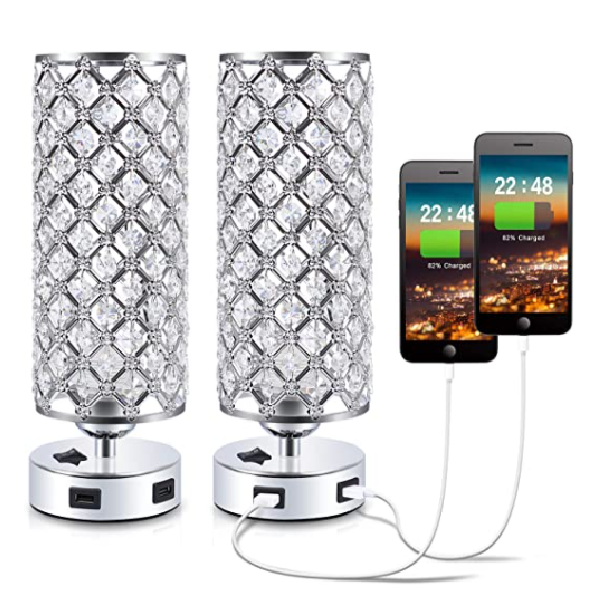 2 set glam lamps