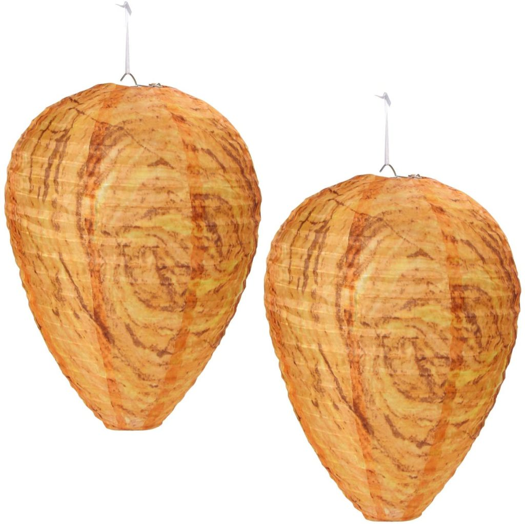 2 pack wasp nest decoys