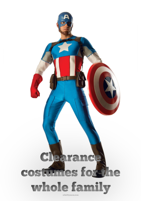 Clearance costumes for the whole family