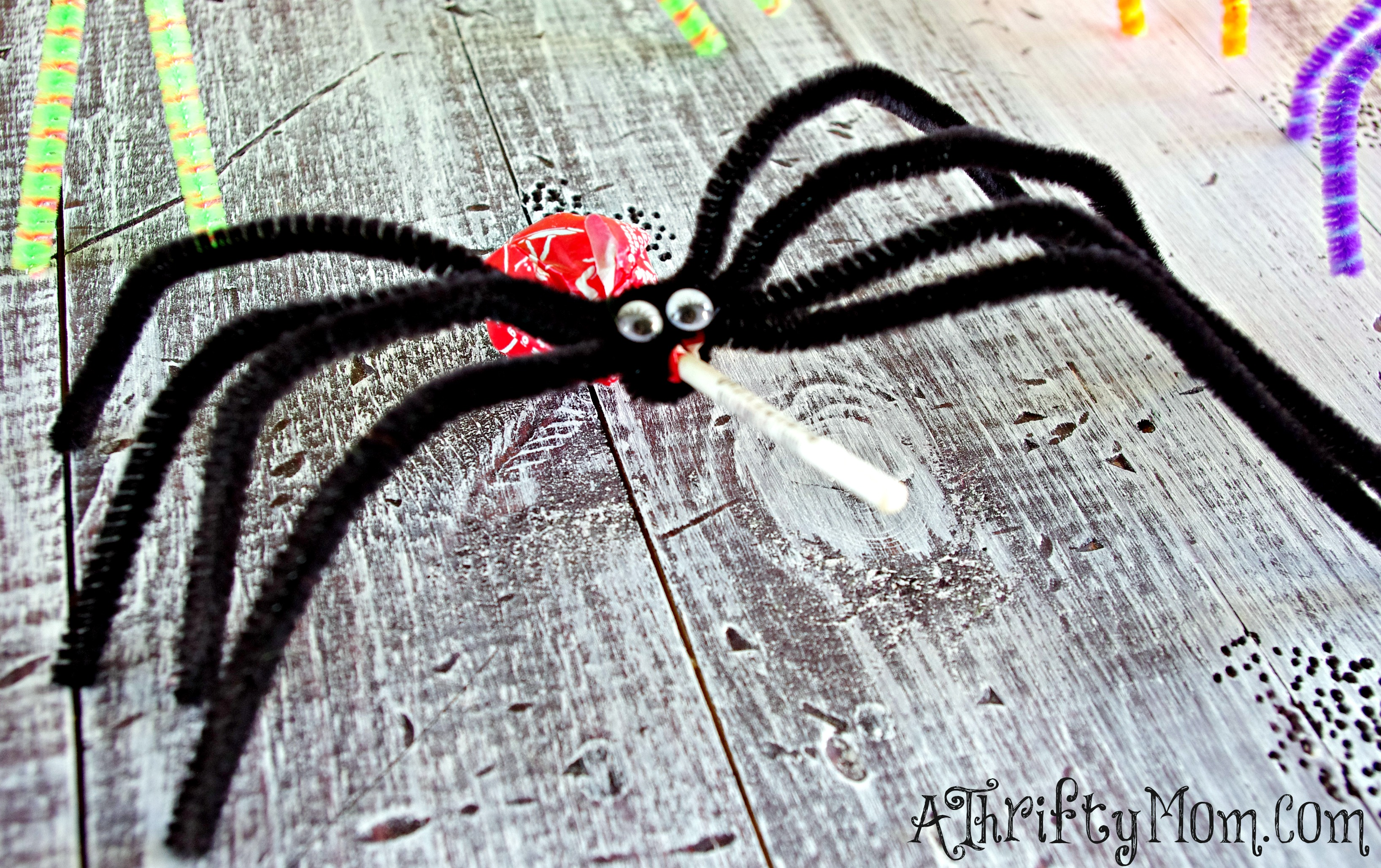 halloween spider craft ideas easy treats for or thanksgiving tissue paper 4623