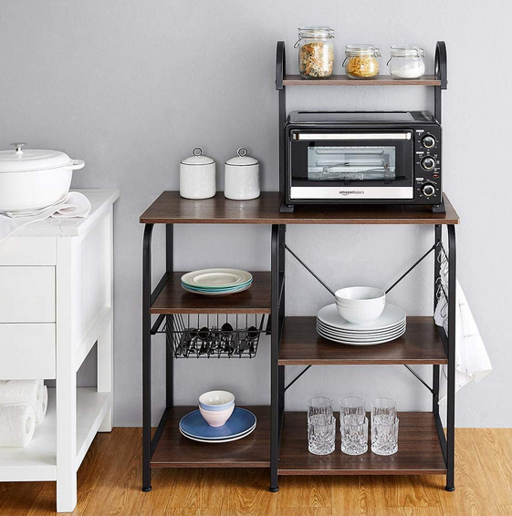 Rolling Wood Kitchen Island - A Thrifty Mom - Recipes ...